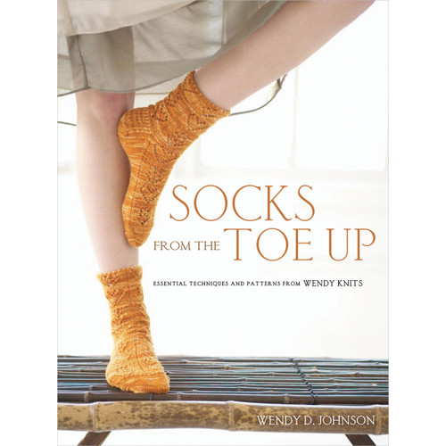 Potter Craft Books-Socks From The Toe Up -POT-49443 - 9999939313579780307449443