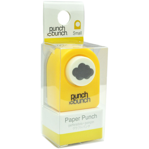 """Punch Bunch Small Punch Approx. .4375""""-Cloud -1P-122 - 819777020377"""