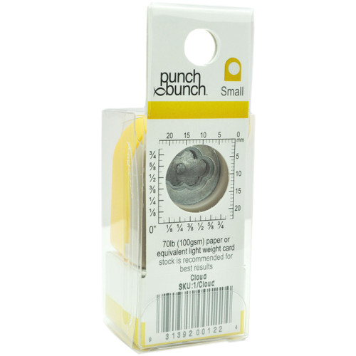 """Punch Bunch Small Punch Approx. .4375""""-Cloud -1P-122"""