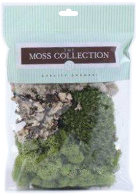 Quality Growers Variety Pack Moss 108.5 Cubic Inches-QG1390 - 740657070406