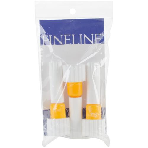 Fineline 20 Gauge Applicator Tip 3/Pkg-18/410 Yellow Band -FL5555 - 816357003256