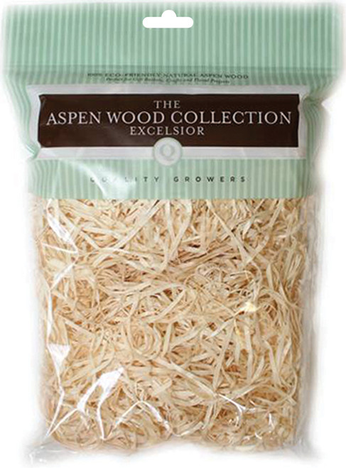 Quality Growers Aspenwood Excelsior 108.5 Cubic Inches-Natural -QG1597RC - 740657079027