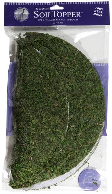 """Super Moss Moss Pot Toppers 12"""" 3/Pkg-Green -FS26315 - 759834263159"""