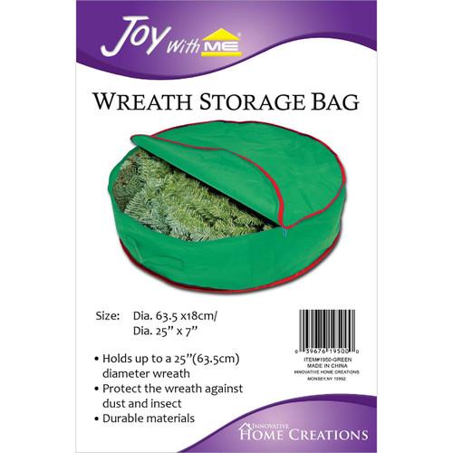 """Wreath Storage Bag-25""""X7"""" -IHC1950 - 039676195000"""