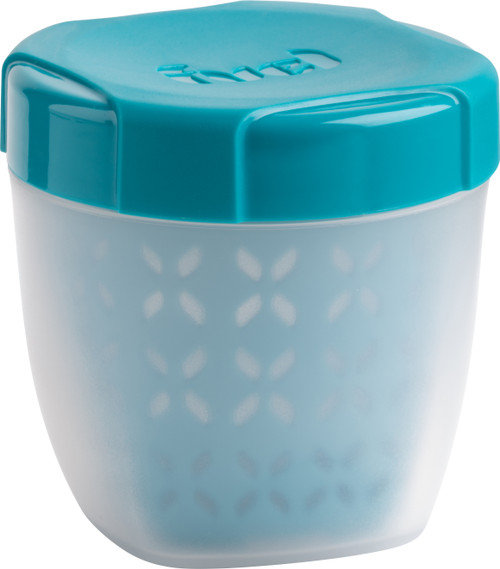 """Fruit Container W/Integrated Strainer 3.5""""X4""""X3.5""""-Blue -38809326"""