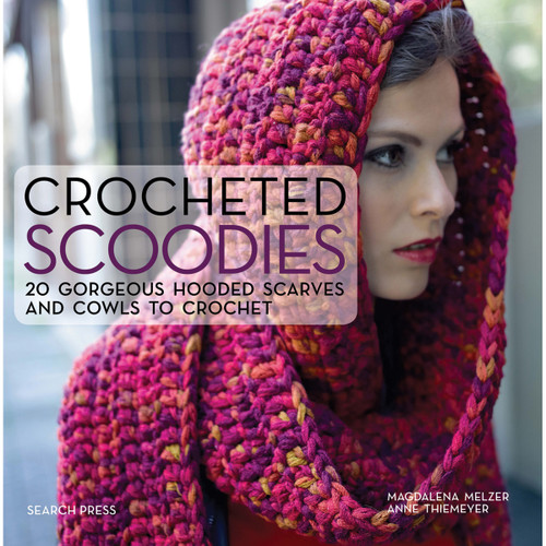 Search Press Books-Crocheted Scoodies -SP-13024 - 9781782213024