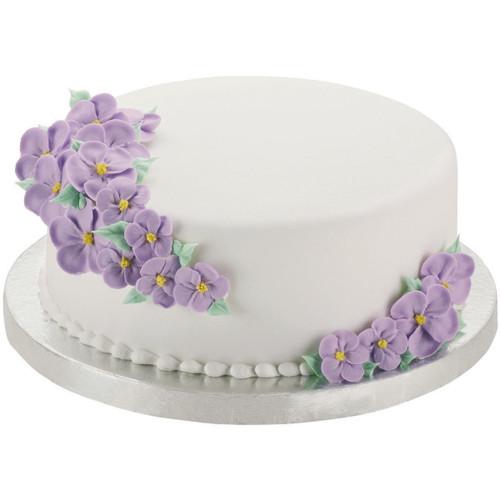 "Cake Bases-10"" Round Silver 2/Pkg -W41187"