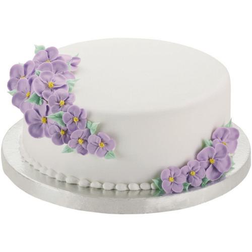 "Cake Bases-14"" Round Silver 2/Pkg -W41189 - 070896411891"