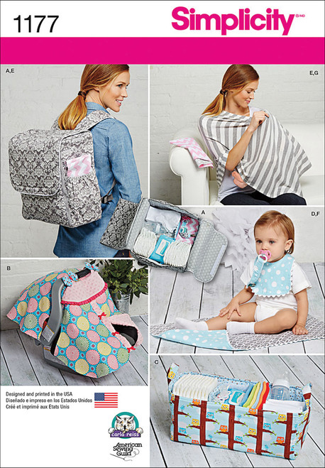 Simplicity Crafts Accessories for Babies-ONE SIZE -US1177OS - 039363511779