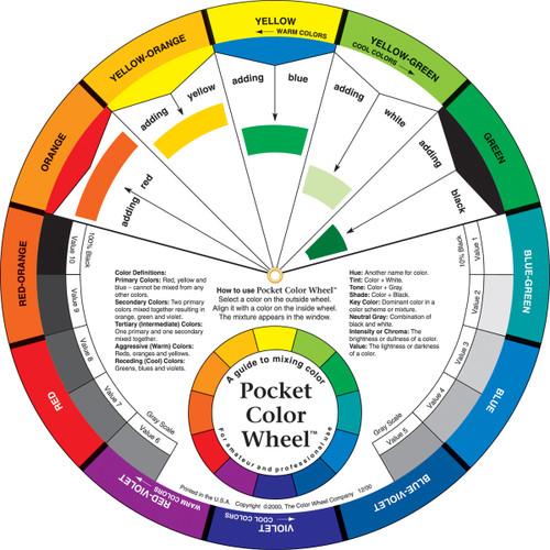 """Pocket Color Wheel-5.125"""" -3501"""