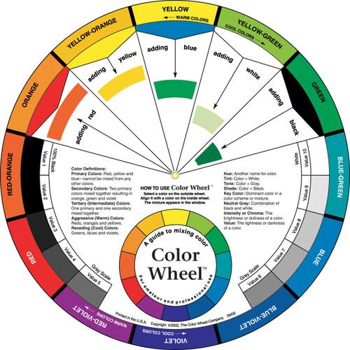 """Color Wheel-9.25"""" -3451"""