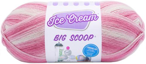 Lion Brand Ice Cream Big Scoop Yarn-Strawberry -922-207 - 023032018300