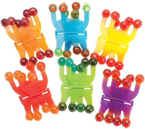 Party Favors 12/Pkg-Wall Climbers -390162