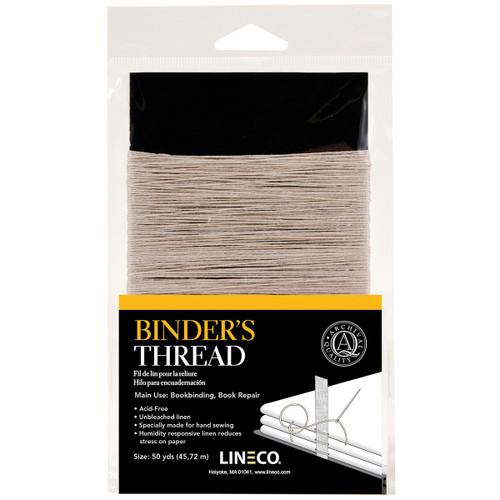 Lineco Binder's Thread 50 Yards-Irish Linen -4020050 - 099295532556