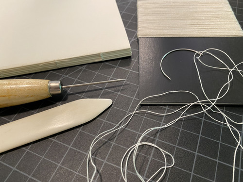 Lineco Binder's Thread 50 Yards-Irish Linen -4020050