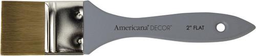 "Americana Decor Flat Brush-2"" Width -ADB03K - 766218073716"