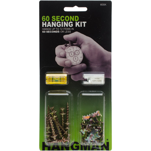 60 Second Picture Hanging Kit-60SK - 681391208062