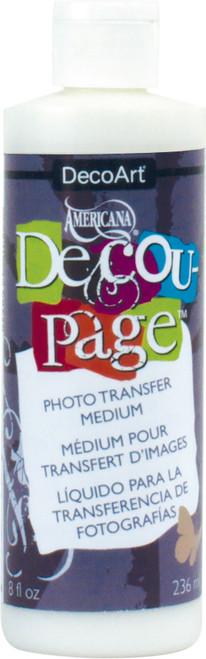 Americana Decou-Page Photo Transfer Medium-8oz -DS11264 - 766218069290