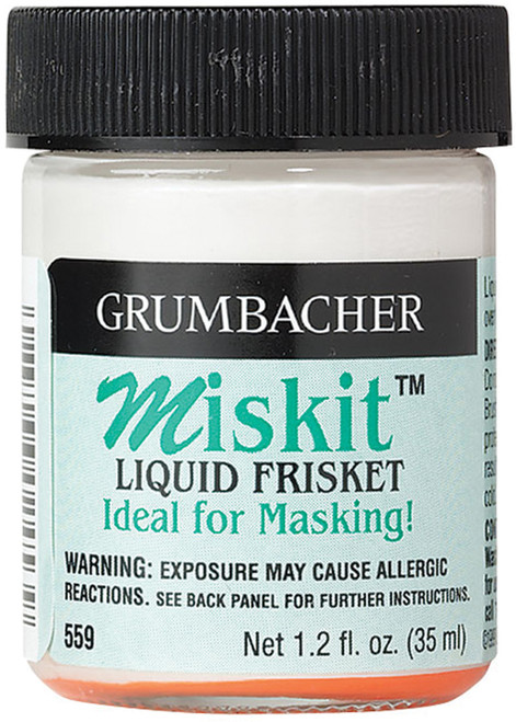 Grumbacher Miskit Liquid Frisket-1.2oz -559 - 014173356246