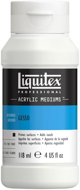 Liquitex Acrylic Gesso Surface Prep-White 4oz -5304 - 094376923933