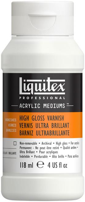 Liquitex High Gloss Varnish-4oz -126604 - 094376926071