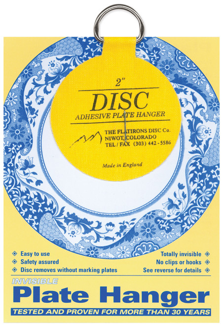 """Invisible Plate Hanger 2""""-For Plates Up To 6"""" Diameter -DPH2 - 648501000121"""