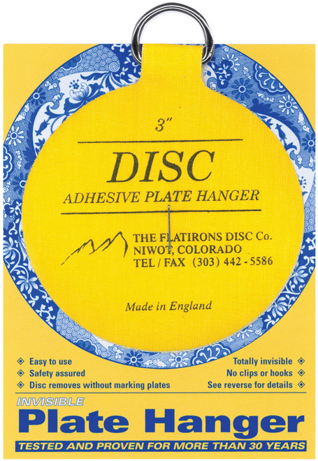 """Invisible Plate Hanger 3""""-For Plates Up To 8"""" Diameter -DPH3 - 648501000138"""