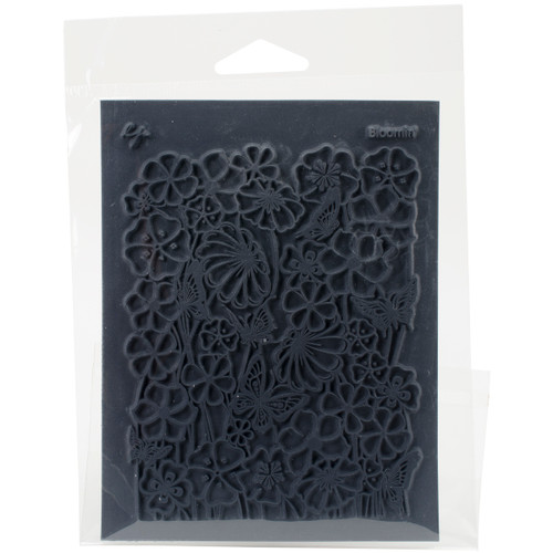 "Lisa Pavelka Individual Texture Stamp 4.25""X5.5""-Bloomin' -LP527-063 - 810444020638"