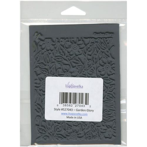 "Lisa Pavelka Individual Texture Stamp 4.25""X5.5""-Garden Glory -LP527-028 - 810444020287"