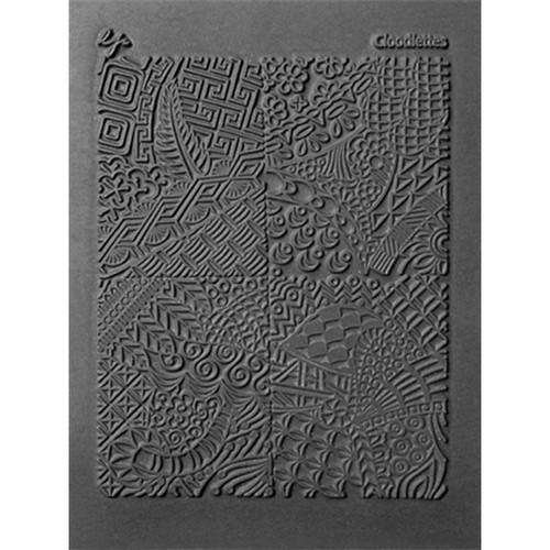 "Lisa Pavelka Individual Texture Stamp 4.25""X5.5""-Cloodettes -LP527-184"