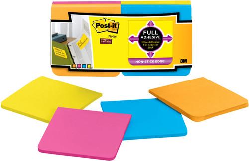"""Post-It Super Sticky Full Adhesive Notes 3""""X3"""" 12/Pkg-Rio De Janiero -F330-12S"""