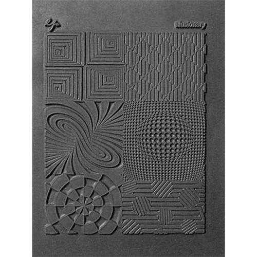 """Lisa Pavelka Individual Texture Stamp 4.25""""X5.5""""-Illusionary -LP527-187"""