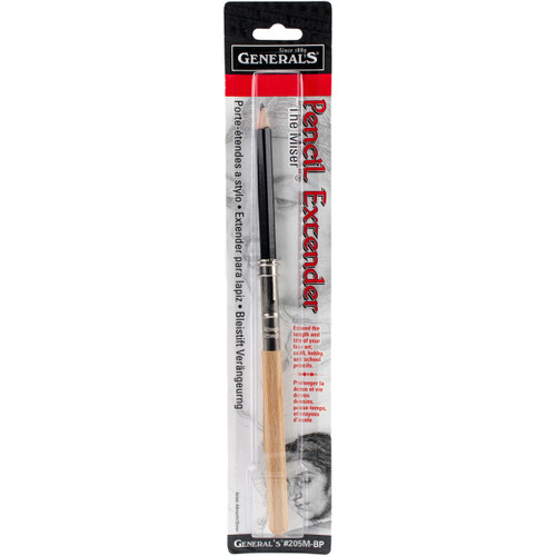 The Miser Pencil Extender With Soft Drawing Pencil  -205MBP - 044974205009