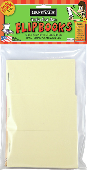 Create Your Own Flip Books 6/Pkg-69010FB - 044974690102