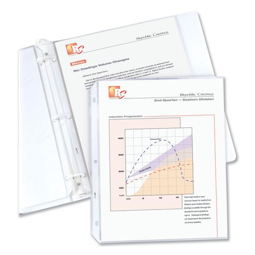 "Top Loading Sheet Protectors 8.5""X11"" 100/Pkg-Clear -62027 - 038944620275"