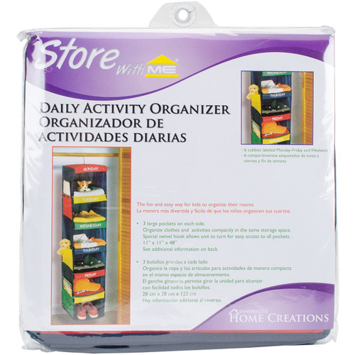 Daily Activity Organizer-6 Cubbies -10600 - 039676106006