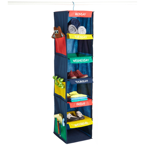Daily Activity Organizer-6 Cubbies -10600