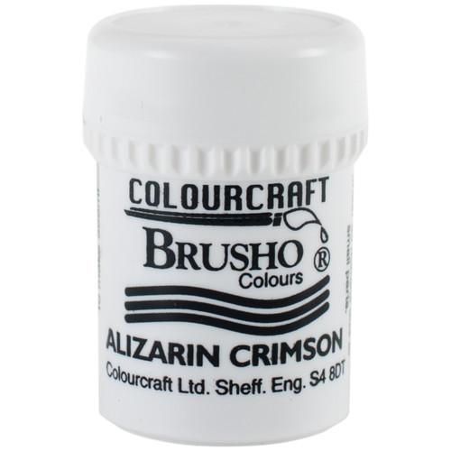 Brusho Crystal Colour 15g-Alizarin Crimson -BRB12-B12AC - 5060133855965