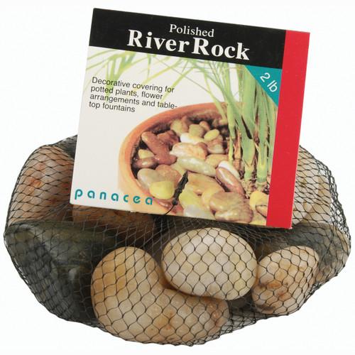 Polished River Rocks 32oz-Assorted Colors -70005 - 093432700051
