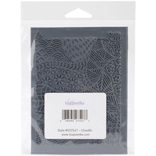 "Lisa Pavelka Individual Texture Stamp 4.25""X5.5""-Cloodle -LP527-527 - 038562275277"