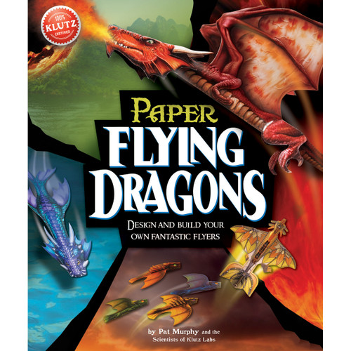 Paper Flying Dragons Book Kit-K44936 - 7307674493609780545449366