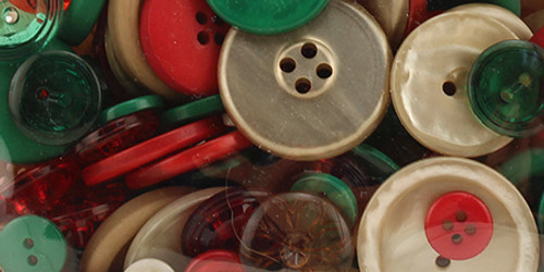 Buttons Galore Button Bonanza-Vintage Christmas -BB-45