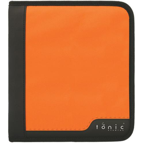 Tonic Studios Large Ring Binder Die Case-Black & Orange -347E