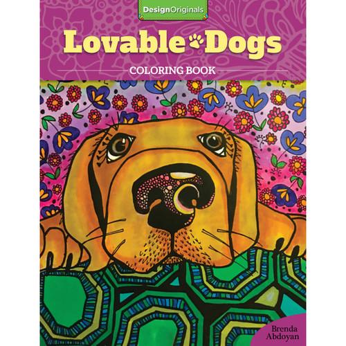Design Originals-Lovable Dogs Coloring -DO-01675 - 9781497201675