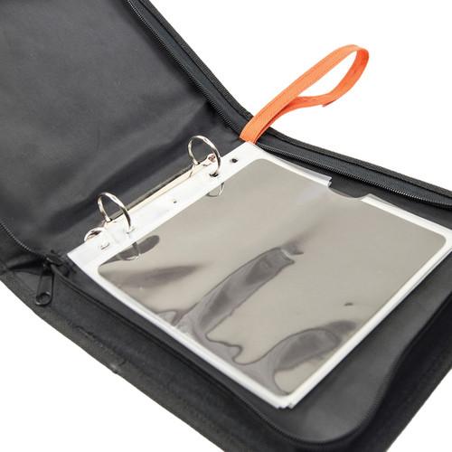 Tonic Studios Medium Ring Binder Die Case-Black & Orange -344E
