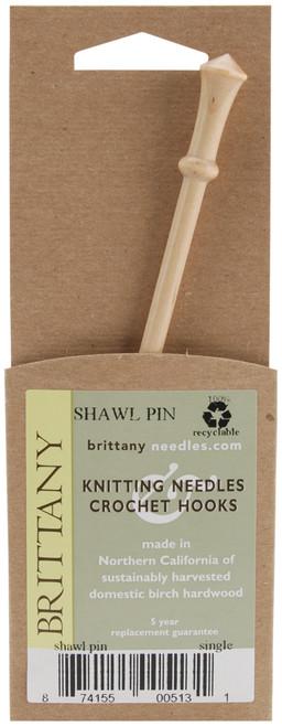 "Brittany Shawl Pin 6""-513 - 874155005131"
