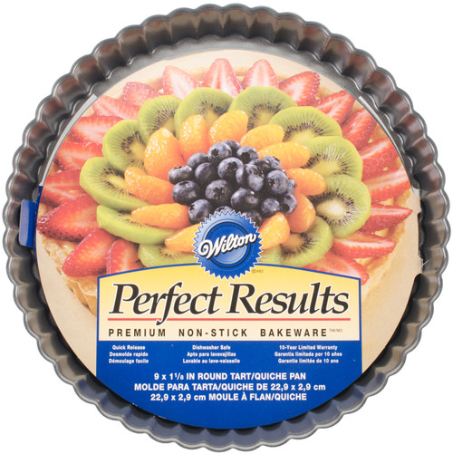 """Perfect Results Tart/Quiche Pan-Round 9"""" -W6818 - 070896258182"""