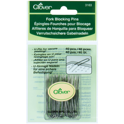 Clover Fork Blocking Pins-40/Pkg -3163 - 051221731631