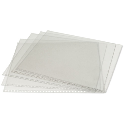 """Clear Protective Sleeves 5/Pkg-8.5""""X11"""" -RCPS811"""
