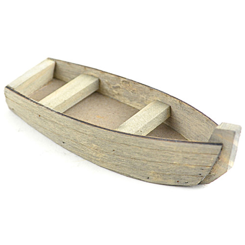 "Fairy Garden Fishing Boat-4"" -85109"